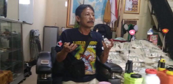 Panglima Tinggi Laskar Macan Ali Cirebon, Prabu Diaz. dede