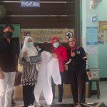 Relasi bagi bagi masker bagi tenaga medis di Tanah Sareal dan Bogor Barat (ist)