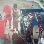 CCTV video viral aksi pria memukul perempuan pegawai SPBU di Pangandaran