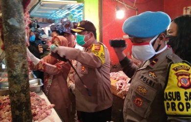 Cek pasar tradisional jual daging di Bandung