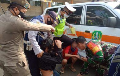 Dua Pemuda Ketahuan Bawa Sabu sabu oleh Petugas PSBB di Medansatria
