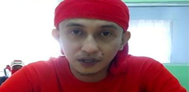 Habib Bahar di Lapas Nusakambangan. Ist