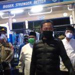 Walikota Bogor, Bima Arya Sugiarto, bersama unsur Forkopimda mengecek Chek point di Tol Bogor di malam Takbiran