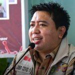 Jubir tim gugus tugas percepatan penanganan covid-19 Karawang,, dr. Fitra Hergyana