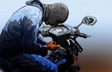 Pencurian Sepeda Motor