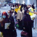 Pengecekan suhu tubuh di Bandara Soekarno-Hatta