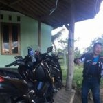 Wisatawan asal Bogor di Pantai Pangandaran