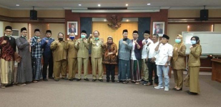 Audiensi Dewan Pondok Alhikamussalafiyah dengan Legislator Purwakarta./Foto: Istimewa