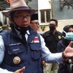 Gubernur Jawa Barat, Ridwan Kamil saat di TSI Bogor