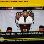 Halal Bi Halal PKS Jabar secara online (ist)