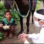 Dedi Mulyadi dan Joki Kuda