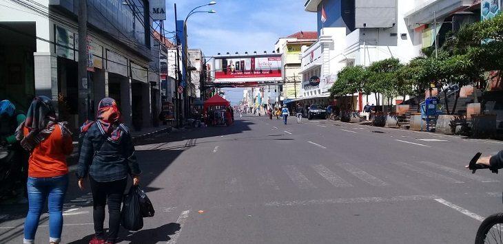 Polrestabes  akan membuka sejumlah jalan di Bandung, Senin (01/6/2020)./Foto: Istimewa