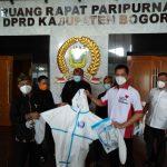Prabowo Subianto bantu APD tenaga medis Kabupaten Bogor (cek)