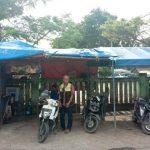 Tukang ojek pangkalan di Terminal Tanjungpura, Karawang