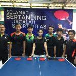 Atlet Tenis Meja Kota Bogor Mulai TC