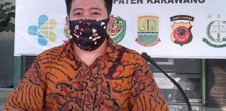 Juru bicara Gugus Tugas Percepatan Penanganan Covid-19 Kabupaten Karawang, dr. Fitra Hergyana./Foto: Istimewa