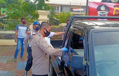 Mobil pick up yang diamankan dari komplotan pencuri (ist)