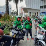 Pengemudi Ojol di Kota Bekasi
