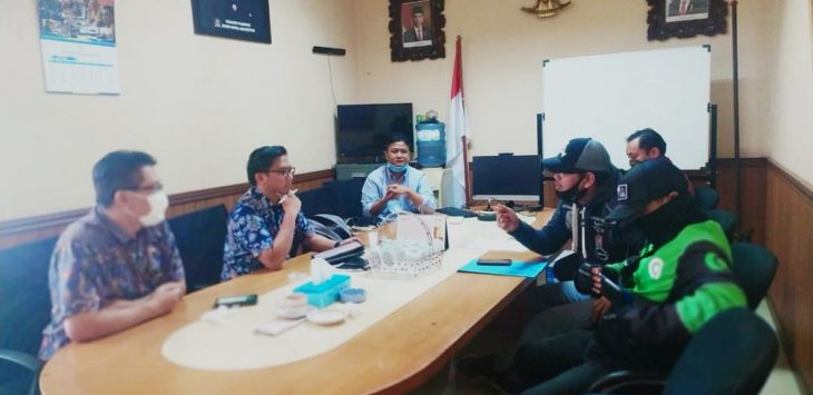 Perwakilan Ojol Kota Bandung bertemu dengan anggota DPRD Kota Bandung (ist)