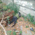 Posisi korban saat ditemukan di lokasi. Editor Metro TV ini diduga dibunuh orang (ist)