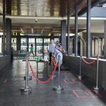 Salah satu hotel di Garut menerapkan protokol kesehatan
