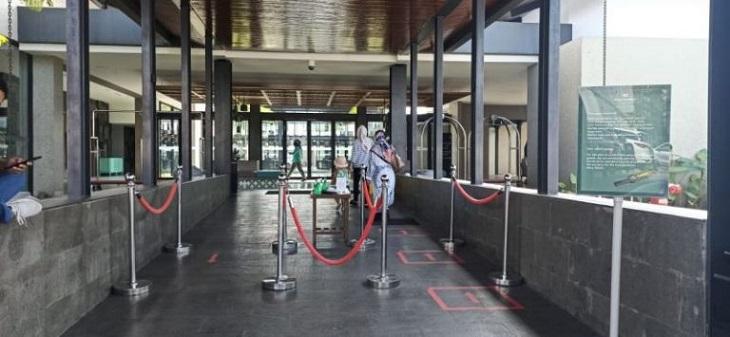 Salah satu hotel di Garut menerapkan protokol kesehatan./Foto: Rmol