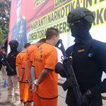Tersangka narkoba yang ditangkap Polda Jabar (arf)