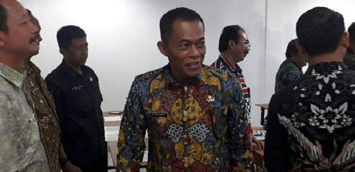 Bupati Subang Ruhimat (tengah)./Foto: Istimewa