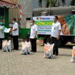 Distribusi beras tahap dua bagi warga terdampak Covid 19 Kabupaten Bogor (cek)