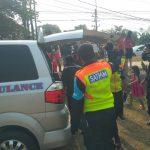 Driver Ojol tewas ditabrak KRL Commuterline di Bojonggede (cek)