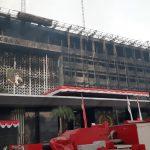 Gedung utama Kejagung habis terbakar selama 11 jam (dtc)