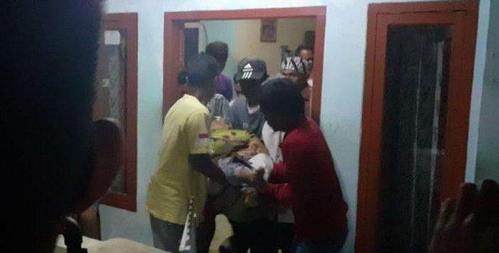 Ibu kandung dibunuh oleh anak kandungnya yang mengalami sakit di Kuningan Jawa Barat (ist)