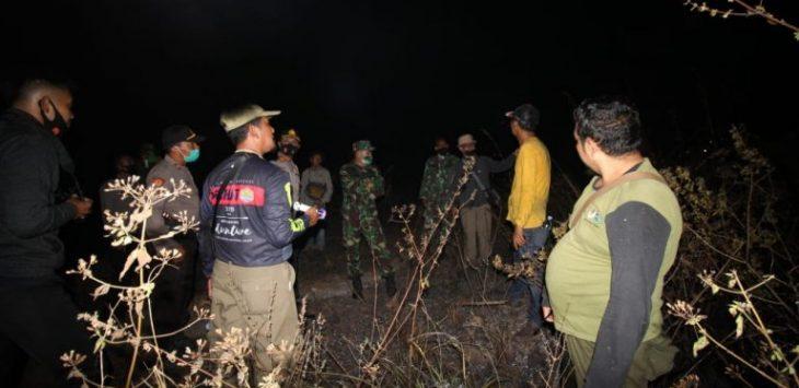 Kebakaran di Hutan Gunung Ciremai gara-gara puntung rokok (ist)