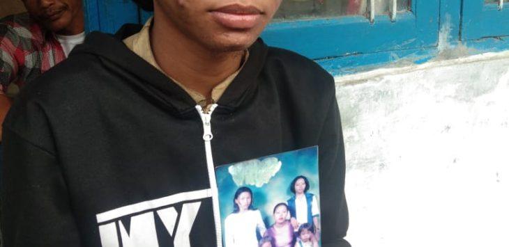 Keluarga dari TKW asal Indramayu yang hilang di Suriah (ist)