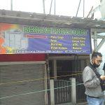 Lokasi penemuan mayat di dalam usaha fotocopy di Sindang Barang Kota Bogor (adi)