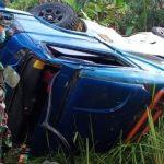 Mobil Elf masuk jurang di Sukabumi (ist)