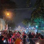 Pawai Obor di Bekasi