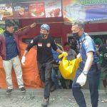 Pemuda ditemukan tewas membusuk di Berkah Fotocopy Sindang Barang Kota Bogor (adi)