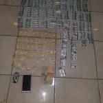 Puluhan ribu butir obat ilegal yang diamankan dari pangkalan ojek di Caringin (ist)