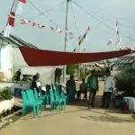 Situasi di rumah duka di Bogor