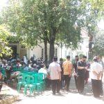 Suasana rumah duka atas meninggalnya mantan Bupati Indramayu Irianto MS Syafiuddin (ist)