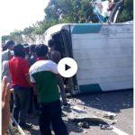 Tabrakan beruntun di Tol Cipali KM 150 Majalengka (Ist)