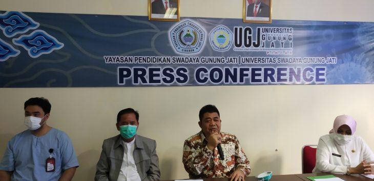 Fakultas Kedokteran Universitas Gunung Jati Cirebon dapat bantuan. Dede