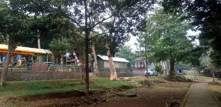 Situasi terkini di Waduk Darma, Kuningan, Selasa (11/8/2020)./Foto: Ega