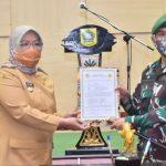 Bupati Ade Yasin lepas TNI bangun jalan di Tenjo (ist)