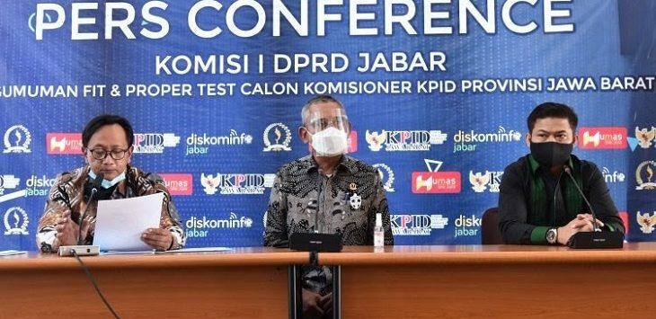 Konpres DPRD Jabar, Rabu (30/9/2020)./Foto: Arief