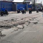 Kerusakan Jalan Lingkar Utara
