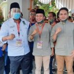 Pasangan calon Bupati dan Wakil Bupati Bandung Dadang Supriatna-Sahrul Gunawan daftar ke KPU