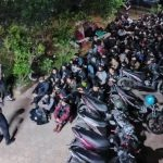 Polisi gerebek pesta miras dan narkoba di Bandung (dtc)