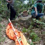 Sosok mayat di Bogor